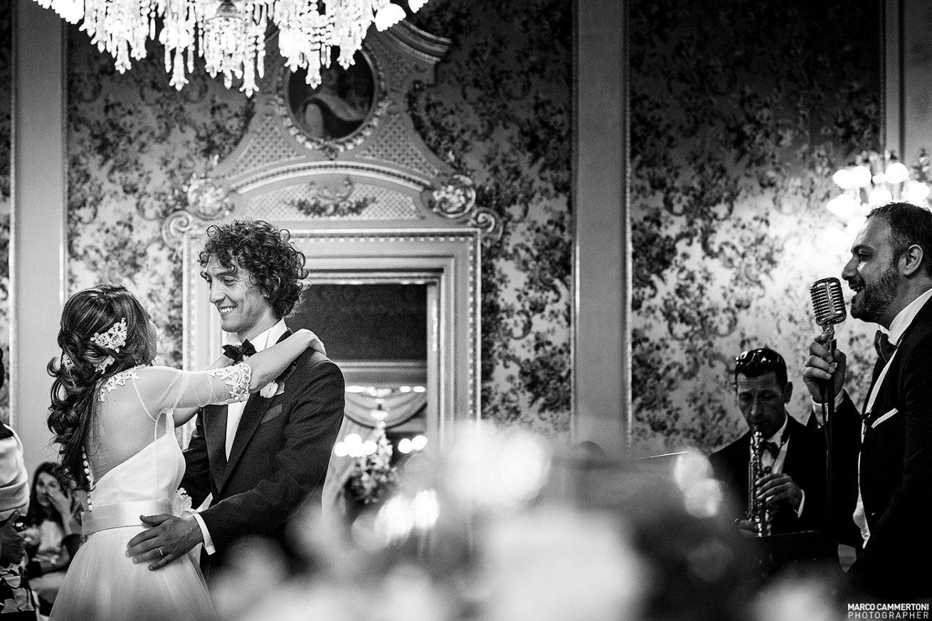 Fotografia Ballo Sposi Matrimonio Sicilia