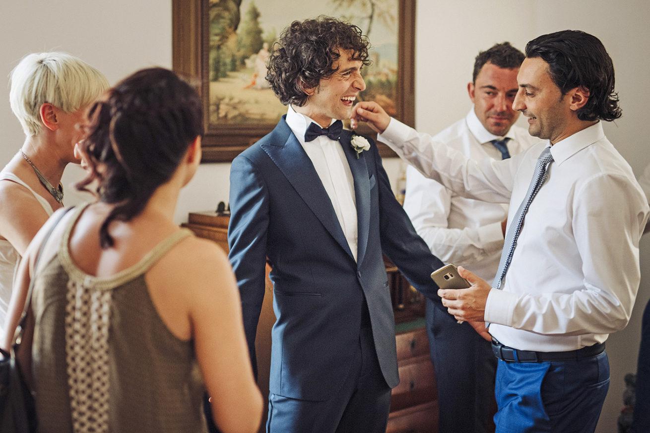 Fotografia Preparativi Sposo Sicilia