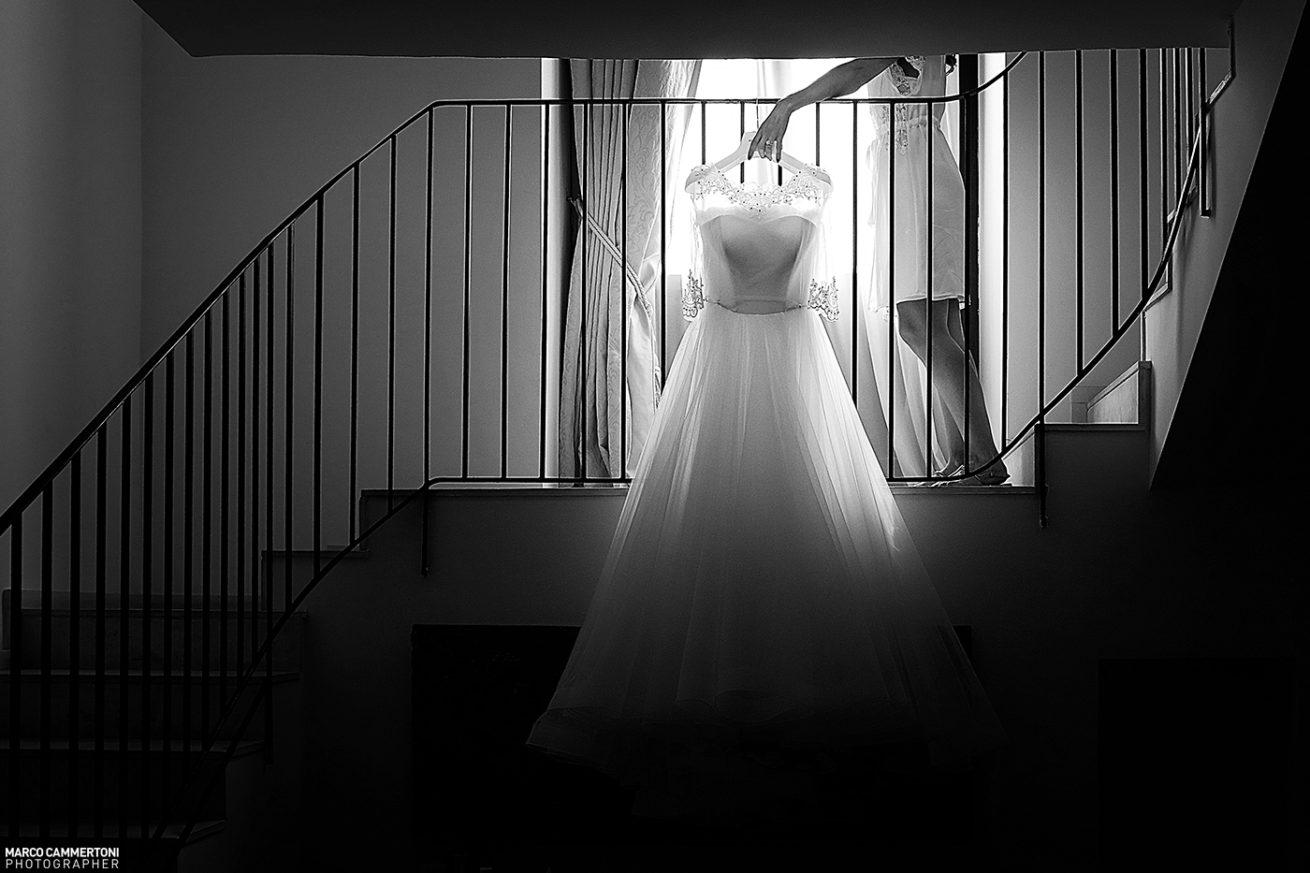 Foto Dettaglio Vestito Sposa Sicilia