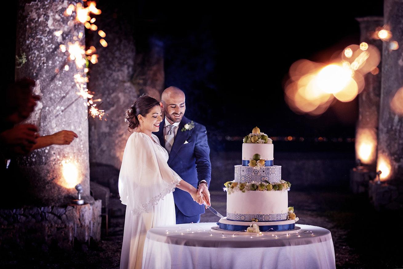 Foto Torta Matrimonio Costiera Amalfitana