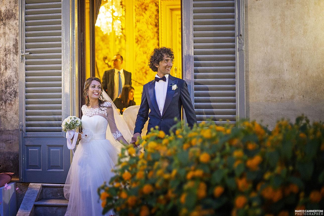 Foto Arrivo Sposi Ristorante Catania - Sicilia