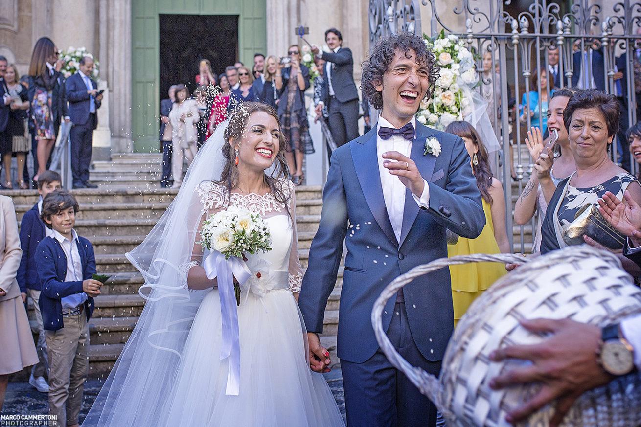 Foto Uscita Sposi Matrimonio Sicilia